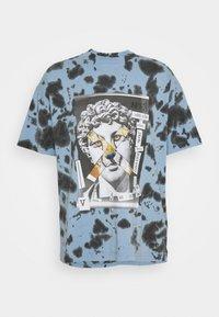 Versace Jeans Couture - TINTO - Print T-shirt - blue - 3