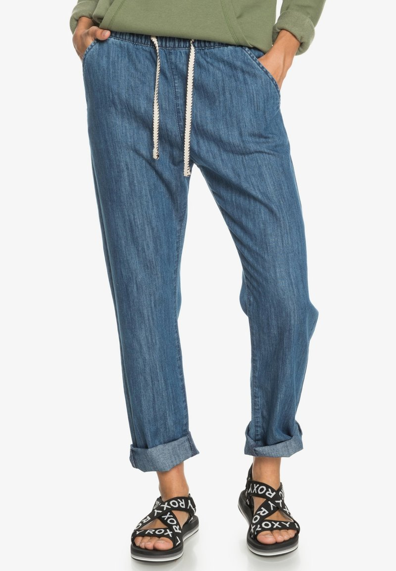 Roxy - MIT RELAXED FIT  - Relaxed fit jeans - medium blue