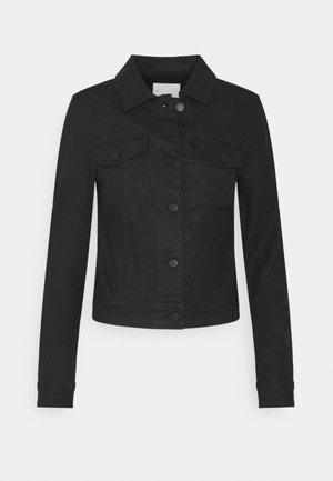 OBJWIN BELLE JACKET - Denim jacket - black