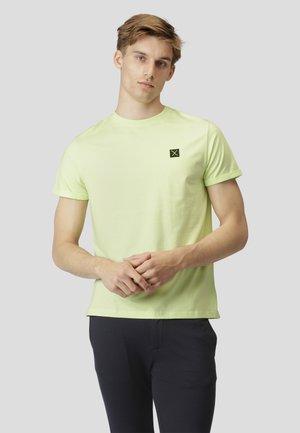 T-shirt basic - neon green