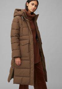Marc O'Polo DENIM - ARCTIC EXPEDITION PUFFER COAT LONG - Winter coat - fantastic brown - 0