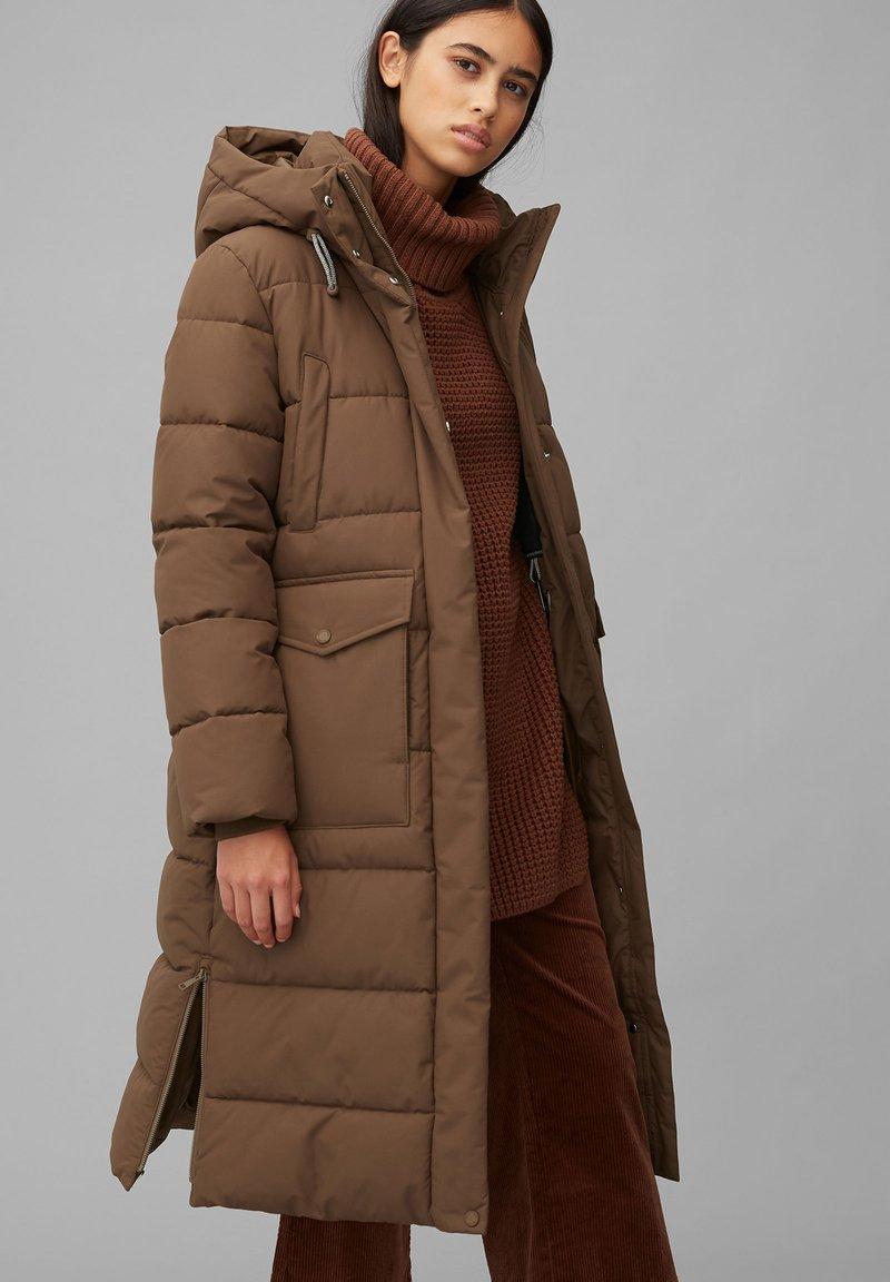 Marc O'Polo DENIM - ARCTIC EXPEDITION PUFFER COAT LONG - Winter coat - fantastic brown