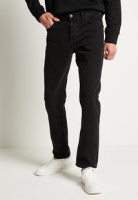 Jack & Jones - JJICHRIS JJORIGINAL - Straight leg jeans - black denim - 0