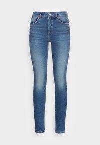 TROUSER SKINNY FIT REGULAR LENGTH HIGH WAIST - Jeans Skinny Fit - dark vintage