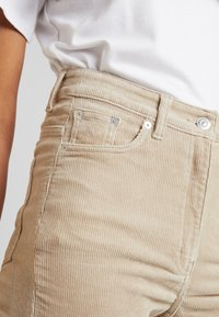 Weekday - EVE TROUSER - Trousers - sand - 5