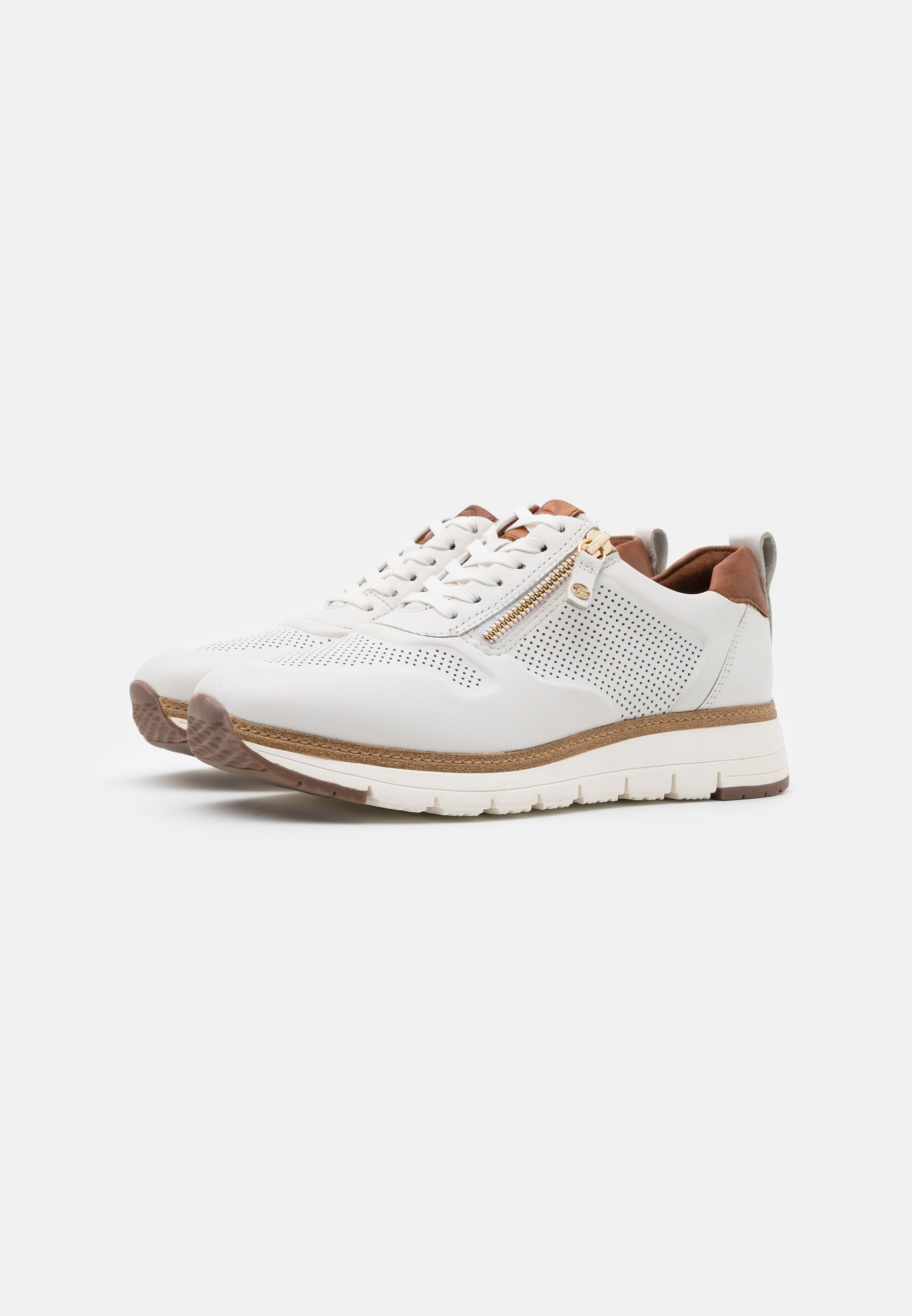 Tamaris Pure Relax LACE UP Joggesko chestnutkonjakk