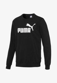 Puma - ESS LOGO CREW - Sweatshirts - black - 0