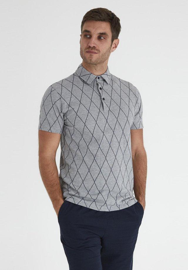 Polo - light grey melange