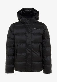 Champion - HOODED JACKET - Winter jacket - black - 4