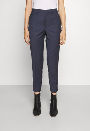 EMMA CROPPED COOL TROUSER - Kalhoty - storm blue