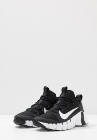 Nike Performance - FREE METCON 3 - Treningssko - black/white/volt - 2