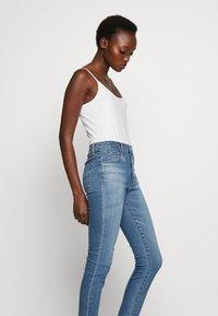 J Brand - LEENAH HIGH RISE - Jeans Skinny Fit - blue denim - 3