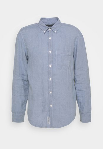 FLINTSTONE - Shirt - solid medium blue