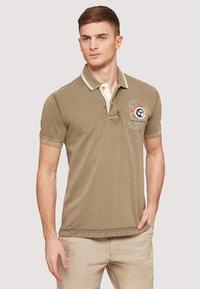 Napapijri - GANDY - Polo shirt - khaki - 0