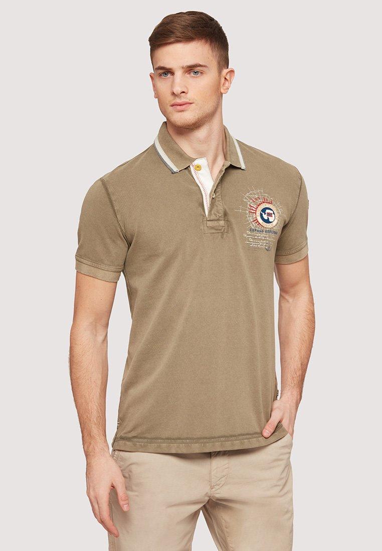 Napapijri - GANDY - Polo shirt - khaki