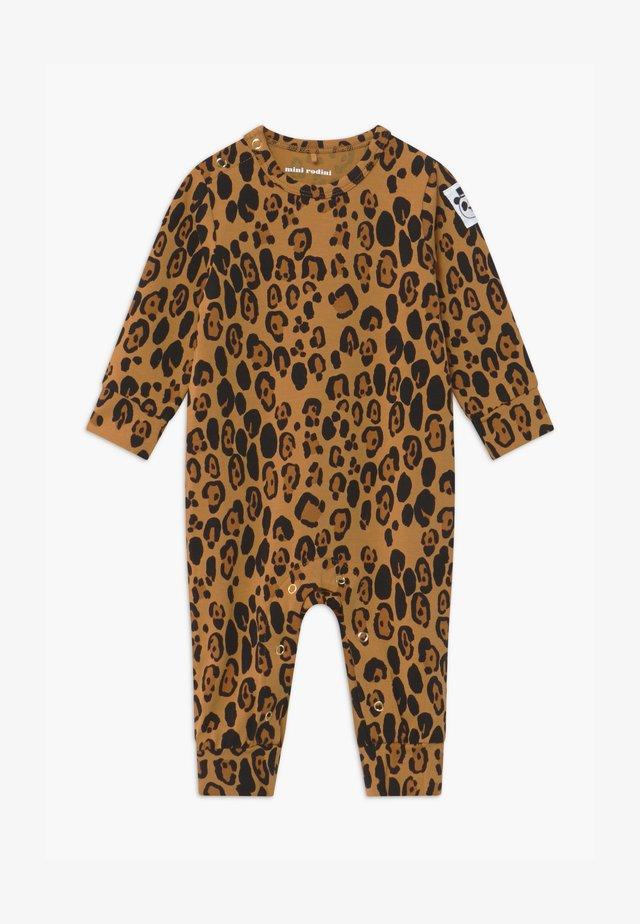 BABY BASIC LEOPARD - Jumpsuit - beige
