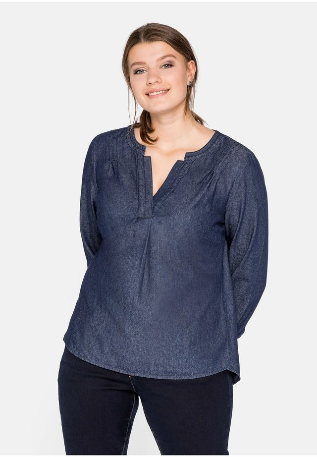 Camicetta - dark blue denim