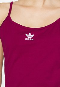adidas Originals - TANK DRESS - Shift dress - power berry/white - 5