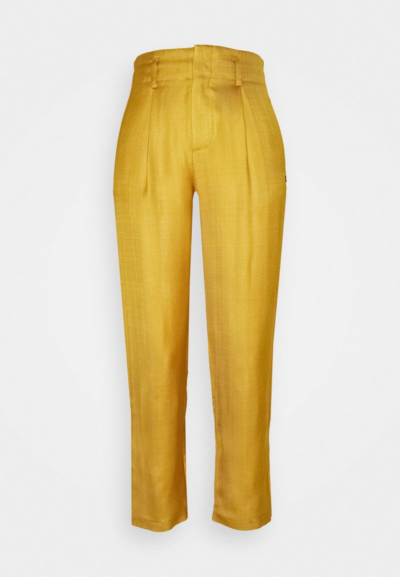 Scotch & Soda - TAILORED PANTS IN SHINY BLEND - Trousers - marigold