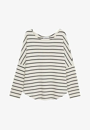 KOREA - Long sleeved top - blanc cassé