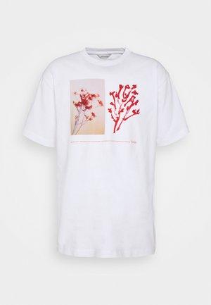 FLEUR TEE  - T-shirt print - white