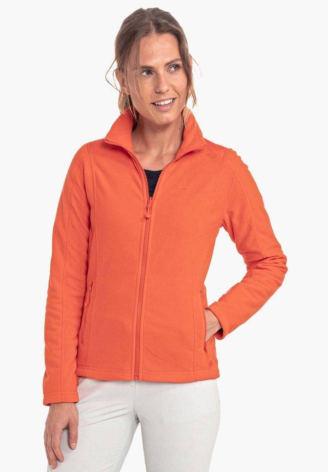"SCHÖFFEL DAMEN FLEECEJACKE ""ALYESKA1"" - Fleece jacket - hochrot (499)"