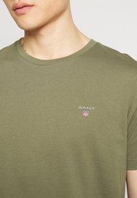 GANT - THE ORIGINAL - T-shirt basic - olive - 4