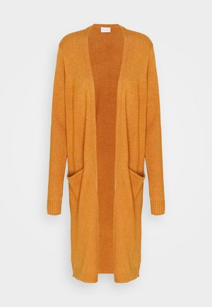 VIRIL LONG CARDIGAN - Neuletakki - pumpkin spice