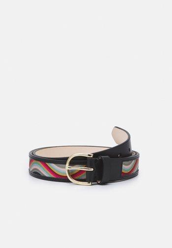 WOMEN BELT SWIRL TAPE - Belt - multi-coloured
