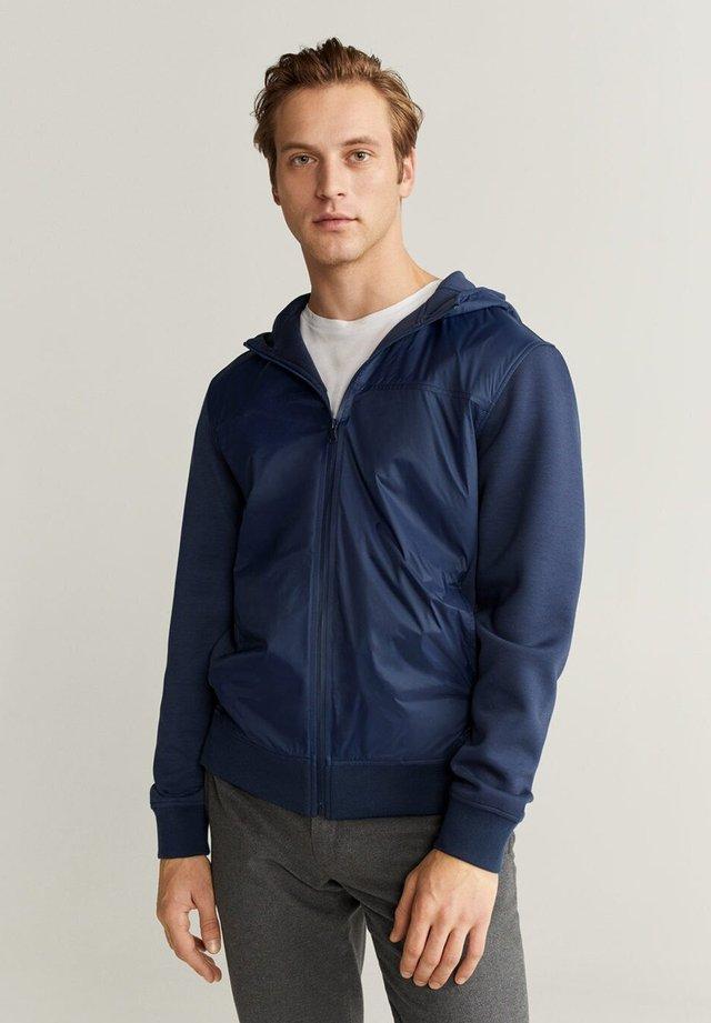LOSI - Zip-up hoodie - dunkles marineblau