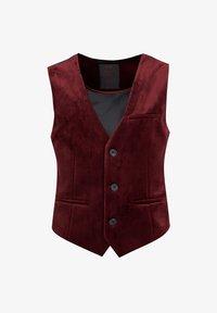 WE Fashion - JONGENS VELVET - Bodywarmer - burgundy red - 0