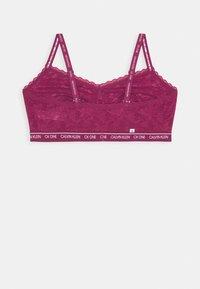 Calvin Klein Underwear - UNLINED TRIANGLE - Bustier - deep sea rose - 1