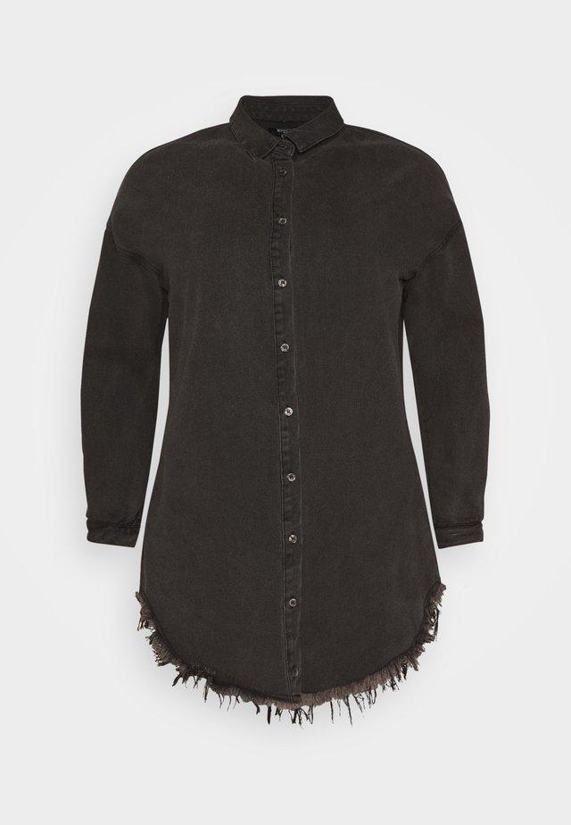 OVERSIZED - Overhemdblouse - black