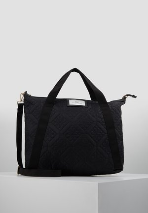 GWENETH CROSS FLOTILE - Shopping Bag - black