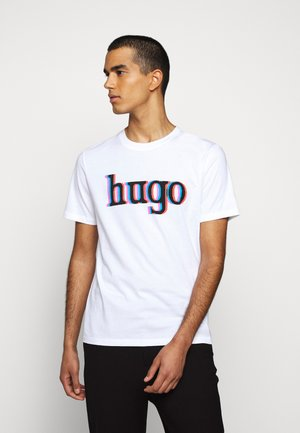 DONTROL - Print T-shirt - white