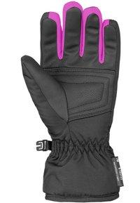 Reusch - BENNET - Gloves - blck/blck melang/pink glo - 2
