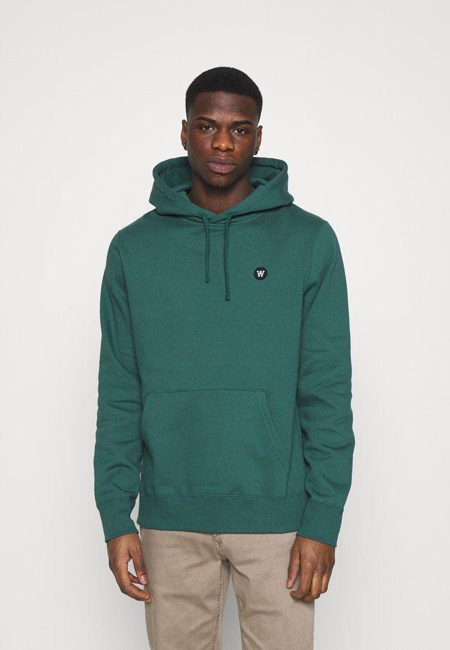 IAN HOODIE - Sweater - faded green