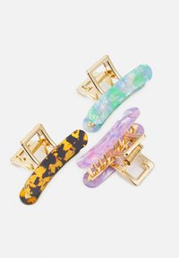 Fire & Glory - FGCECILIA HAIRSHARK 3 PACK - Hair Styling Accessory - gold-coloured/multi - 2