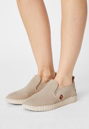 Nazouvací boty - ivory