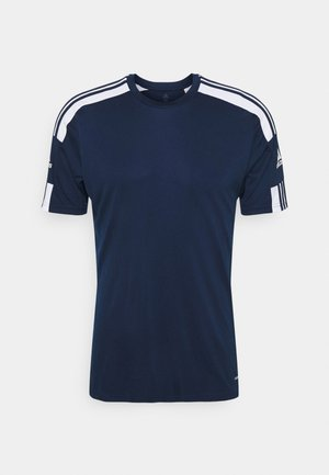 SQUAD - Camiseta estampada - navy blu/white