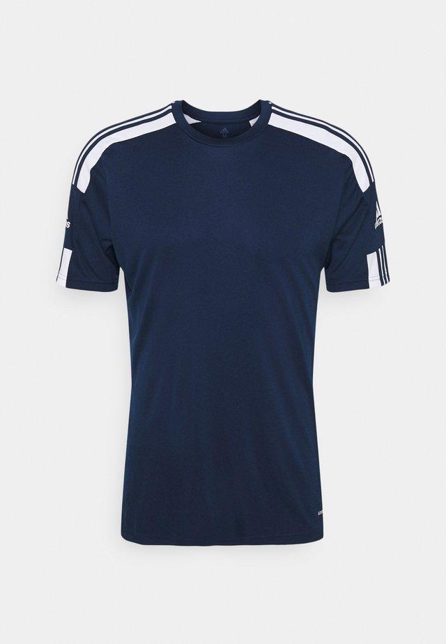 SQUAD - T-shirt imprimé - navy blu/white