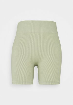 SEAMLESS CYCLE SHORT - Leggings - dessert sage