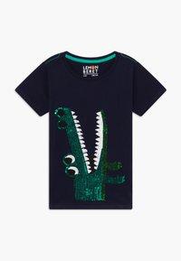 Lemon Beret - SMALL BOYS - Print T-shirt - navy blazer - 0