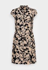 comma - Shirt dress - black/beige - 3