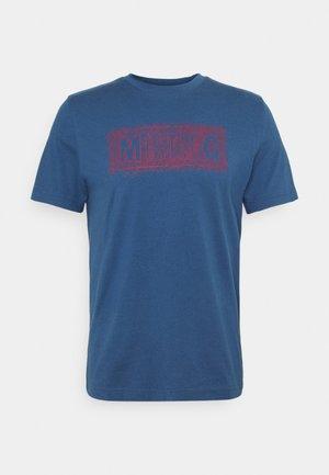 ALEX PRINT - T-shirt med print - ensigne blue