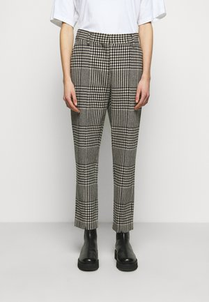 Trousers - black/grey