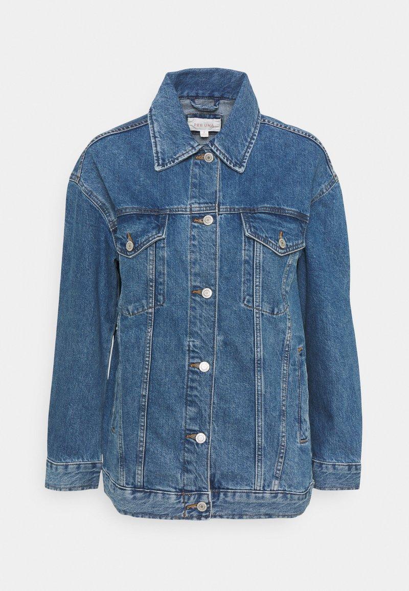 Marks & Spencer London - JACKET - Denim jacket - blue denim