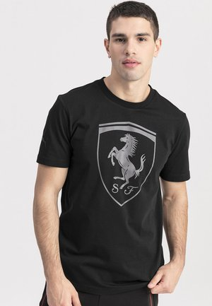 FERRARI - Print T-shirt - black