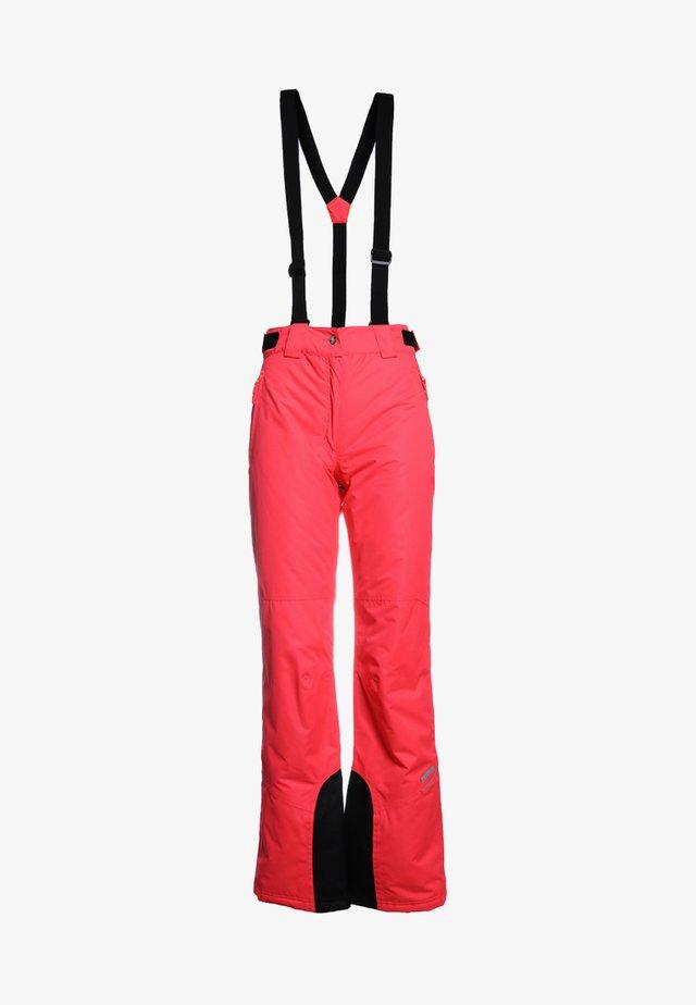 CELIA UNISEX - Spodnie narciarskie - hot pink
