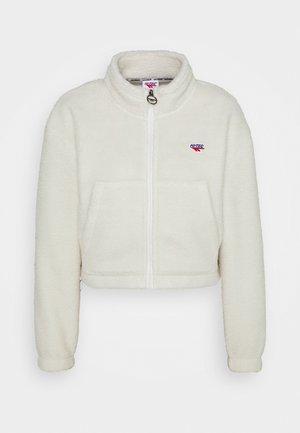 FLEUR - Fleece jacket - soya